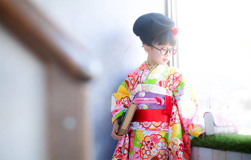 山田写真館の七五三