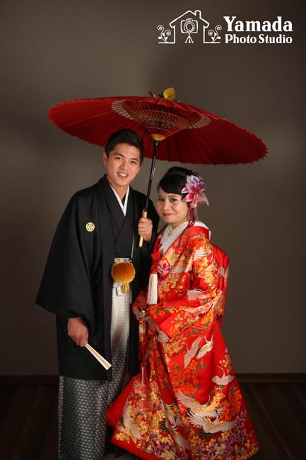 岡谷結婚写真