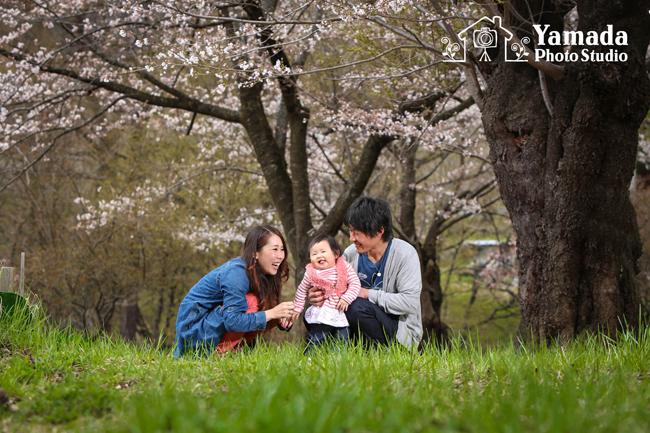 家族写真撮影諏訪市