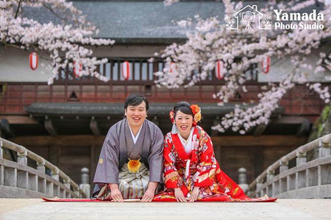 高島城結婚写真