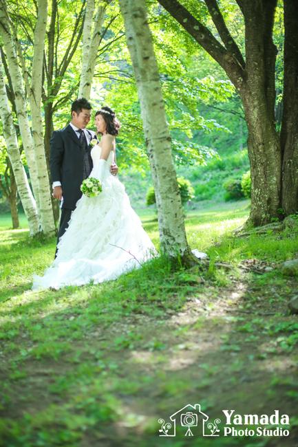 結婚写真佐久市