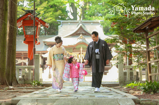 諏訪神社ロケーション撮影