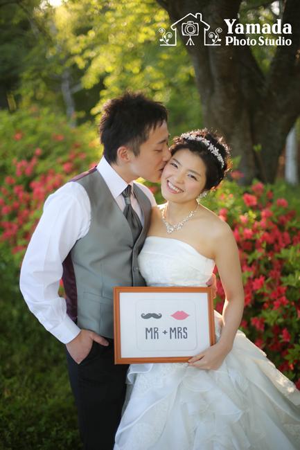 諏訪結婚式写真