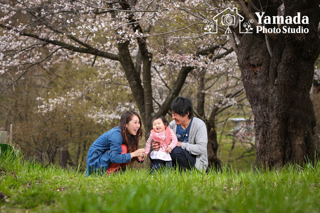 家族写真  岡谷