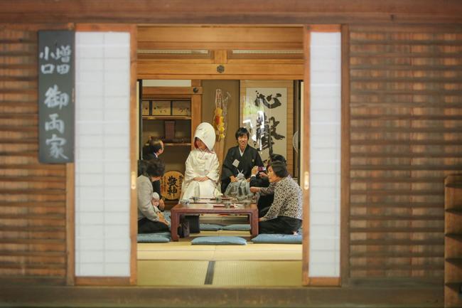 諏訪大社下社結婚式写真