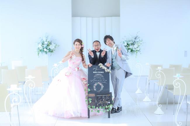 セミナーハウス結婚写真