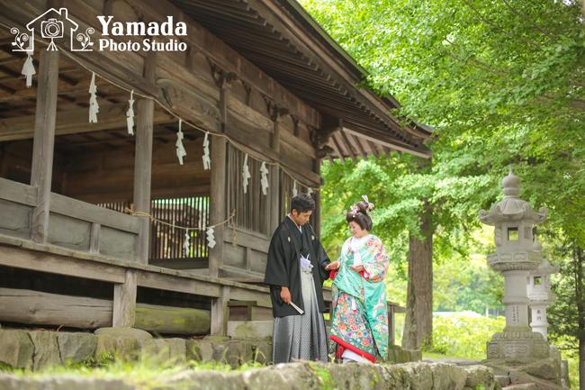 諏訪大社前宮結婚式