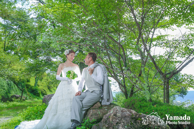 結婚式前撮り茅野市