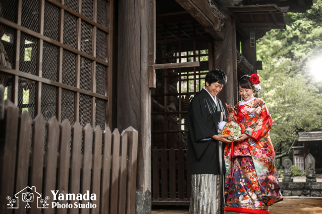 下諏訪町結婚式写真