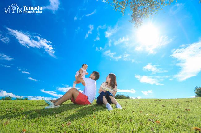 家族写真諏訪市