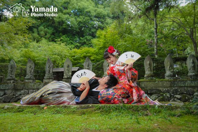 下諏訪町和装花嫁