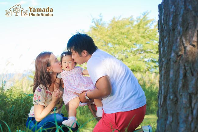 下諏訪町家族写真
