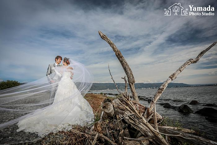 諏訪湖結婚写真長野県