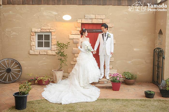 長野県安曇野市結婚写真