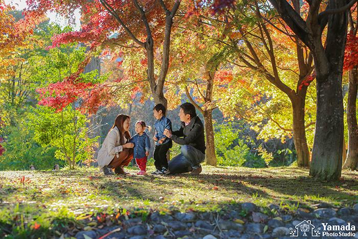 家族写真ロケーション諏訪市