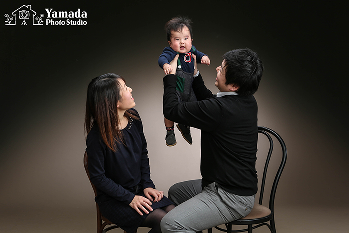 家族写真長野県諏訪市