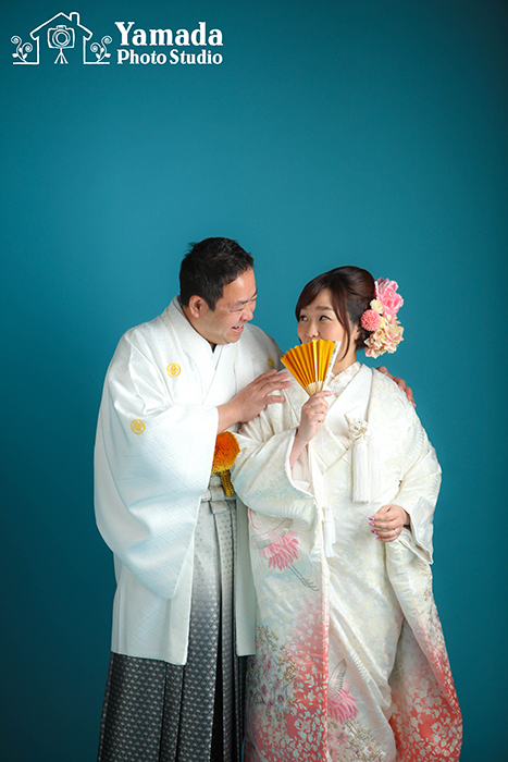岡谷市和装結婚写真