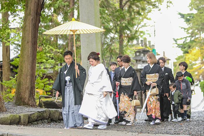 諏訪大社結婚式 長野県