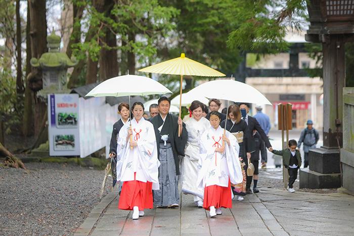 諏訪大社結婚式 茅野市