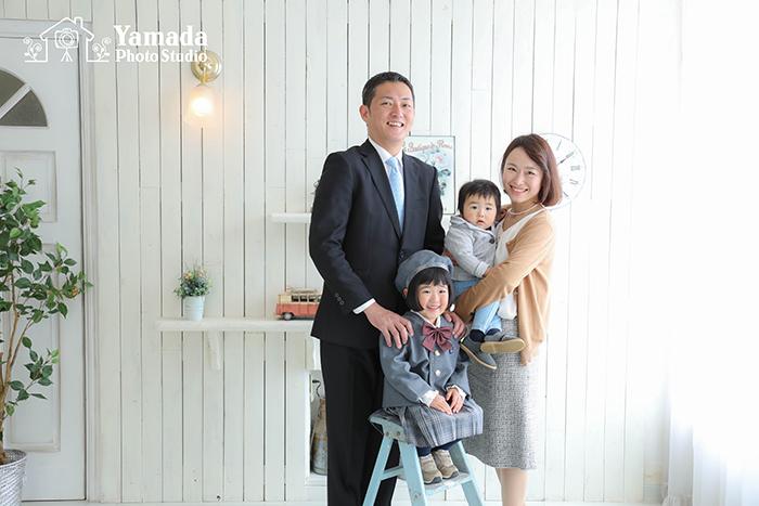 松本市家族写真