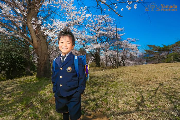 桜ロケ岡谷市より