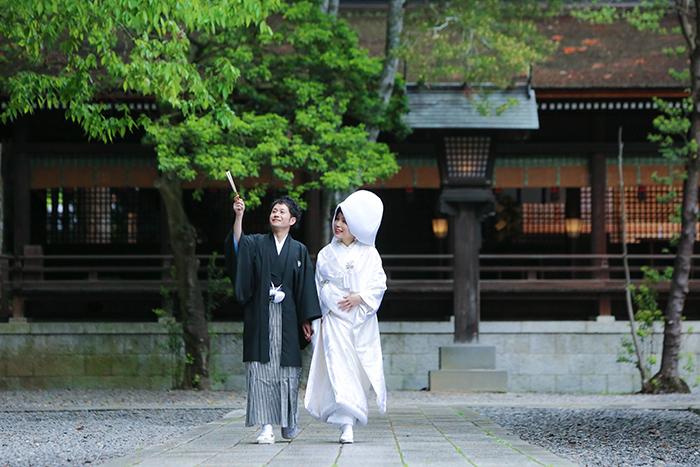 諏訪大社結婚式茅野