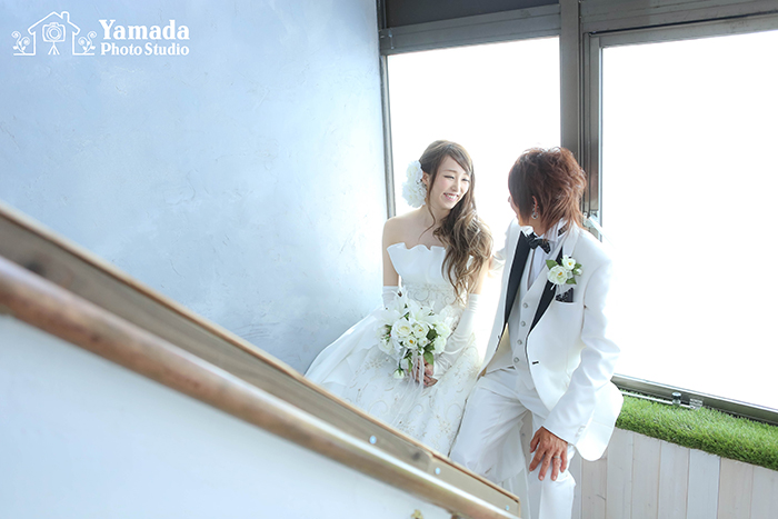 結婚写真朝日村
