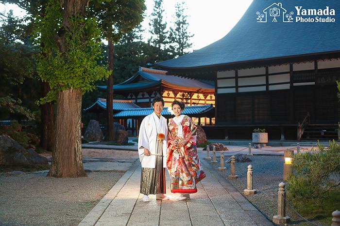 写真だけの結婚式坂城町