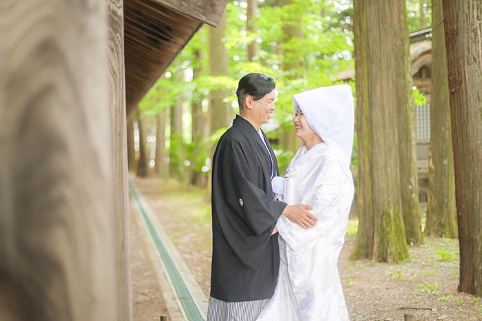 諏訪市和装結婚式