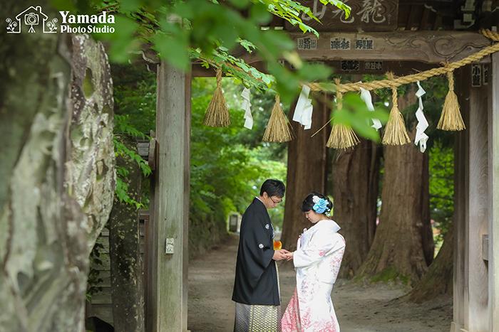 岡谷市仏前結婚式