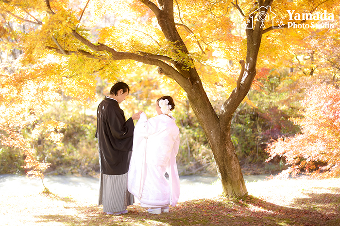 諏訪市結婚式写真