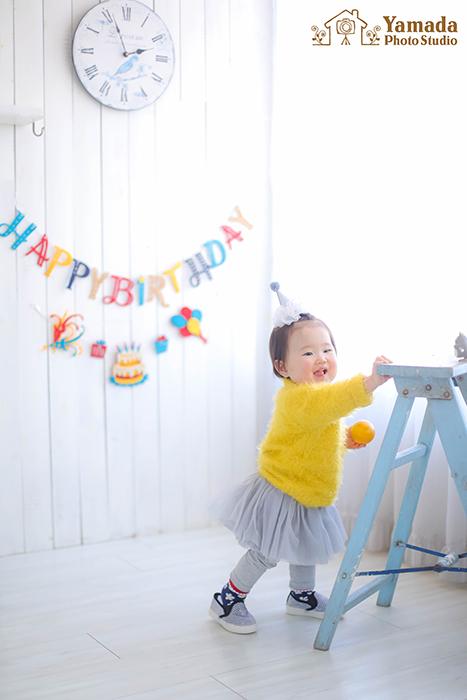 1歳お誕生日山梨県より