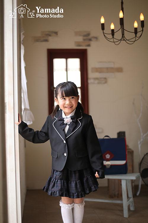 岡谷入学写真