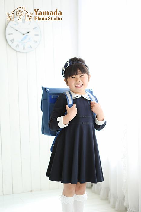 入学記念撮影岡谷写真館