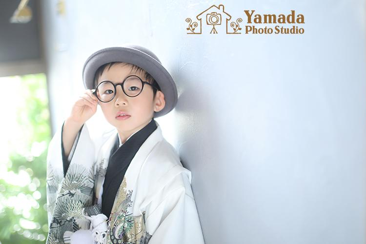七五三5歳袴スタジオ
