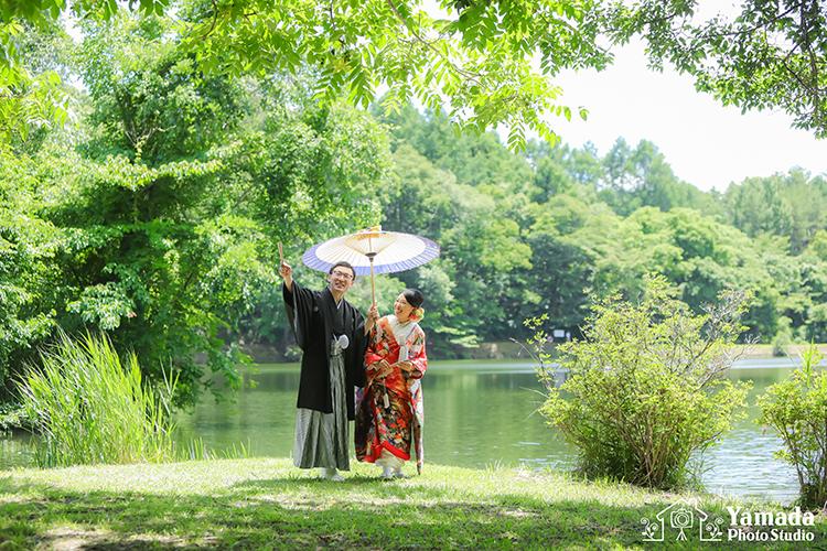 茅野市和装結婚写真