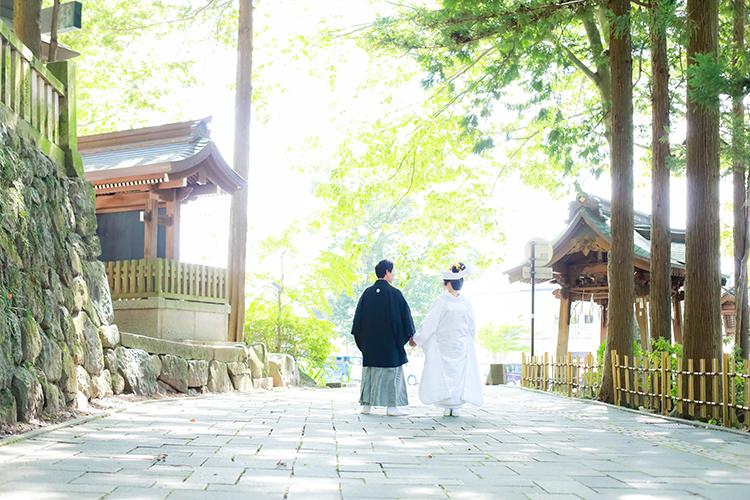 神前結婚式諏訪