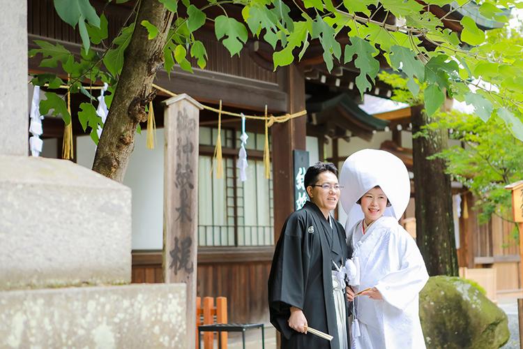 下諏訪町和装結婚式