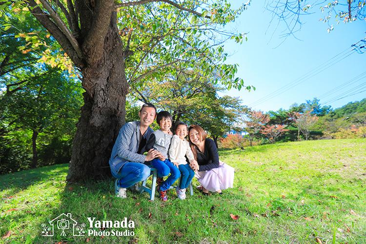 ようこそ長野へ家族写真ロケーション