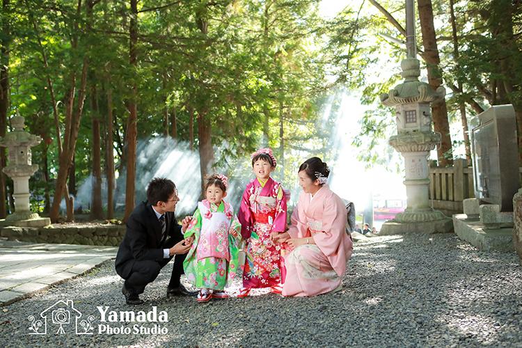 家族で名古屋から来てくれました^^