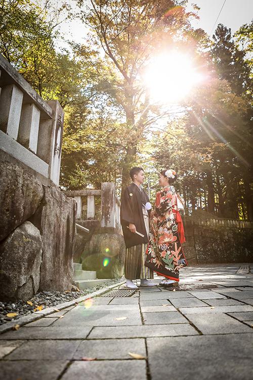 諏訪神社挙式