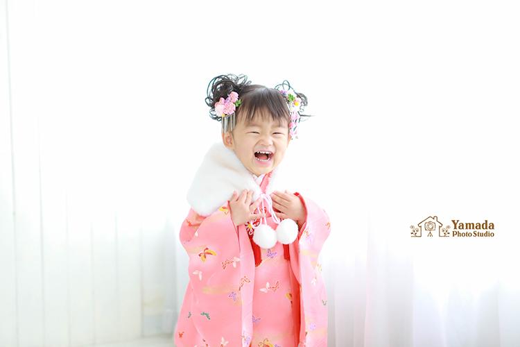 3歳の妹ちゃん登場岡谷市写真館753記念撮影
