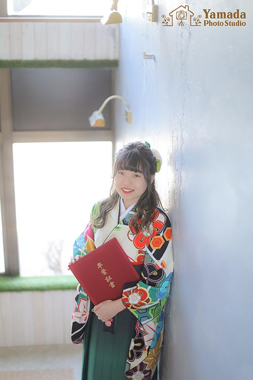 岡谷卒業袴レンタル
