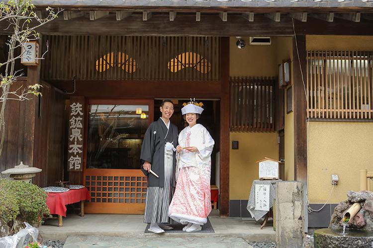 鉄鉱泉本館 結婚式