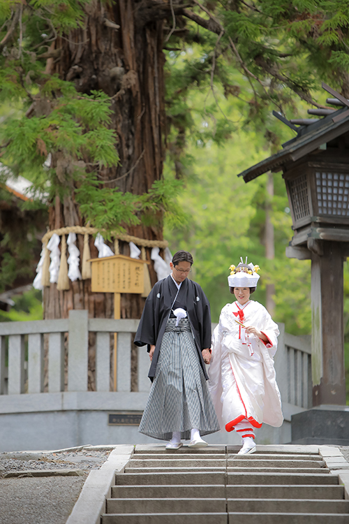 諏訪和装結婚式