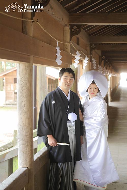 諏訪結び和装神前結婚式