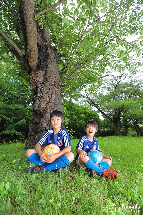 成田公園サッカー岡谷市写真館