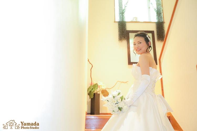 花嫁さんソロ岡谷市写真館