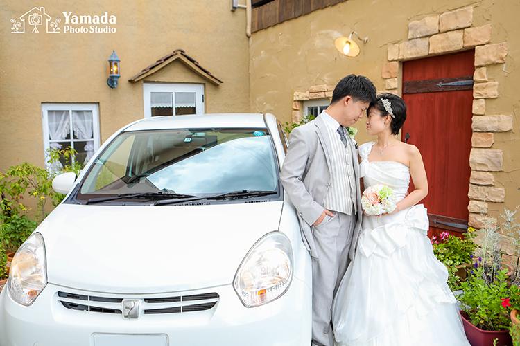 箕輪結婚写真