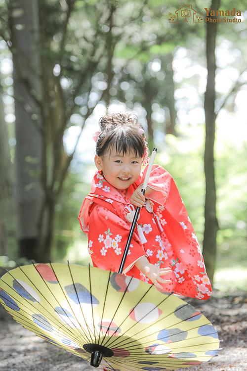3歳妹ロケーション撮影出早神社